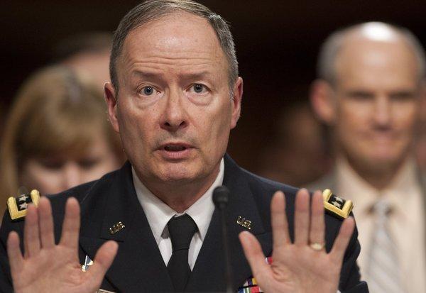 Keith Alexander, patron de la NSA.